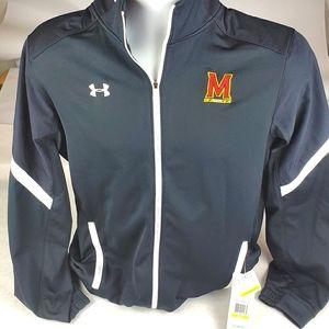 Under Armour UA Team Full Zip LS Maryland Jacket